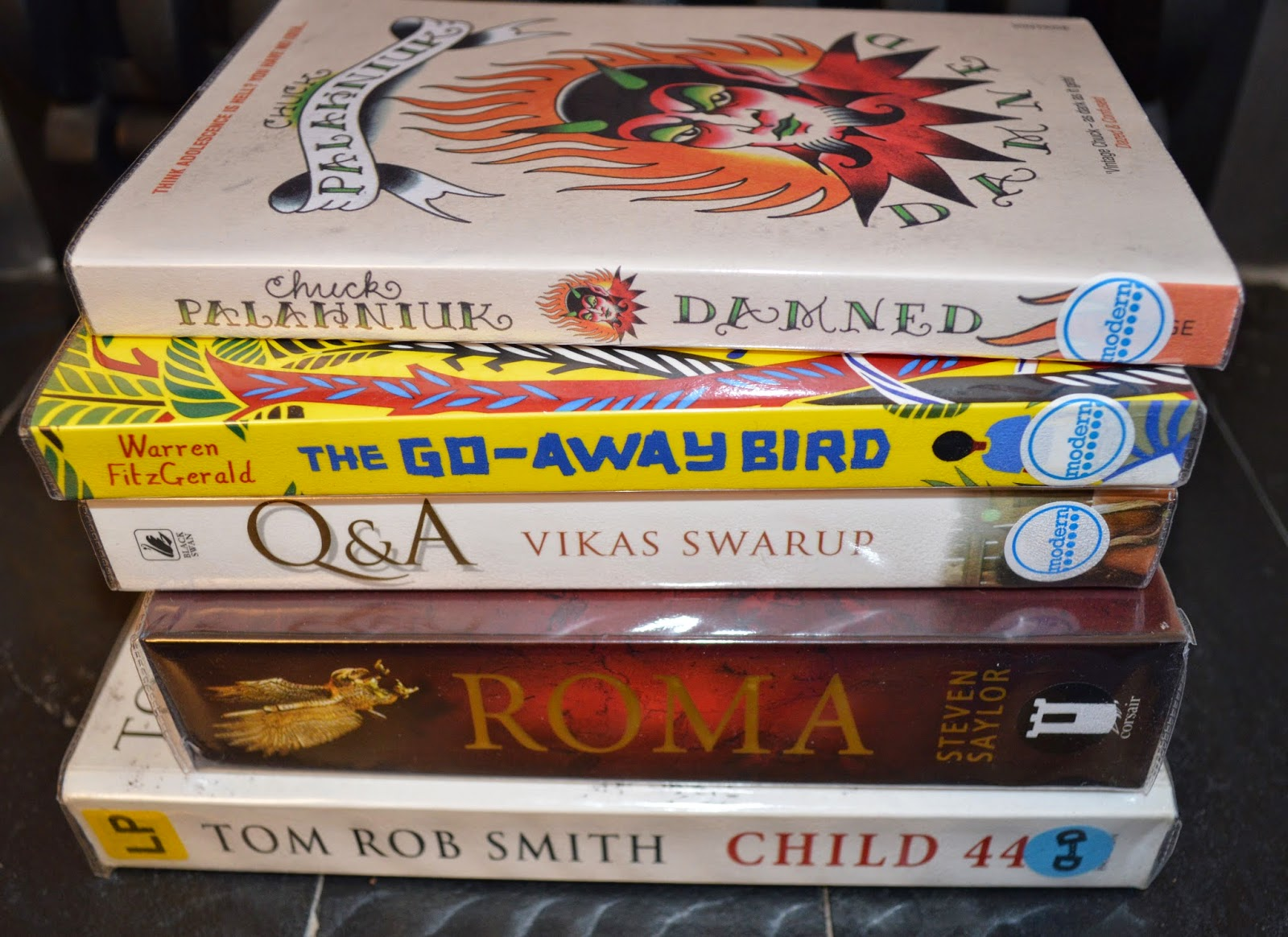 library haul, book stack, currently reading, UK book blog, pile of books, literature