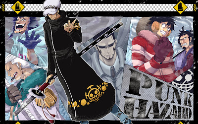 Trafalgar Law Punk Hazard One Piece a656