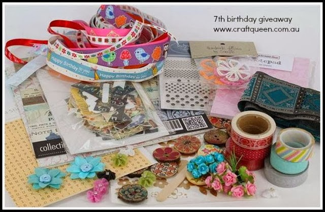 Craft Queen birthday giveaway