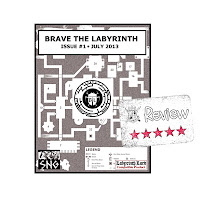 Frugal GM Review: Brave the Labyrinth - Issue #1