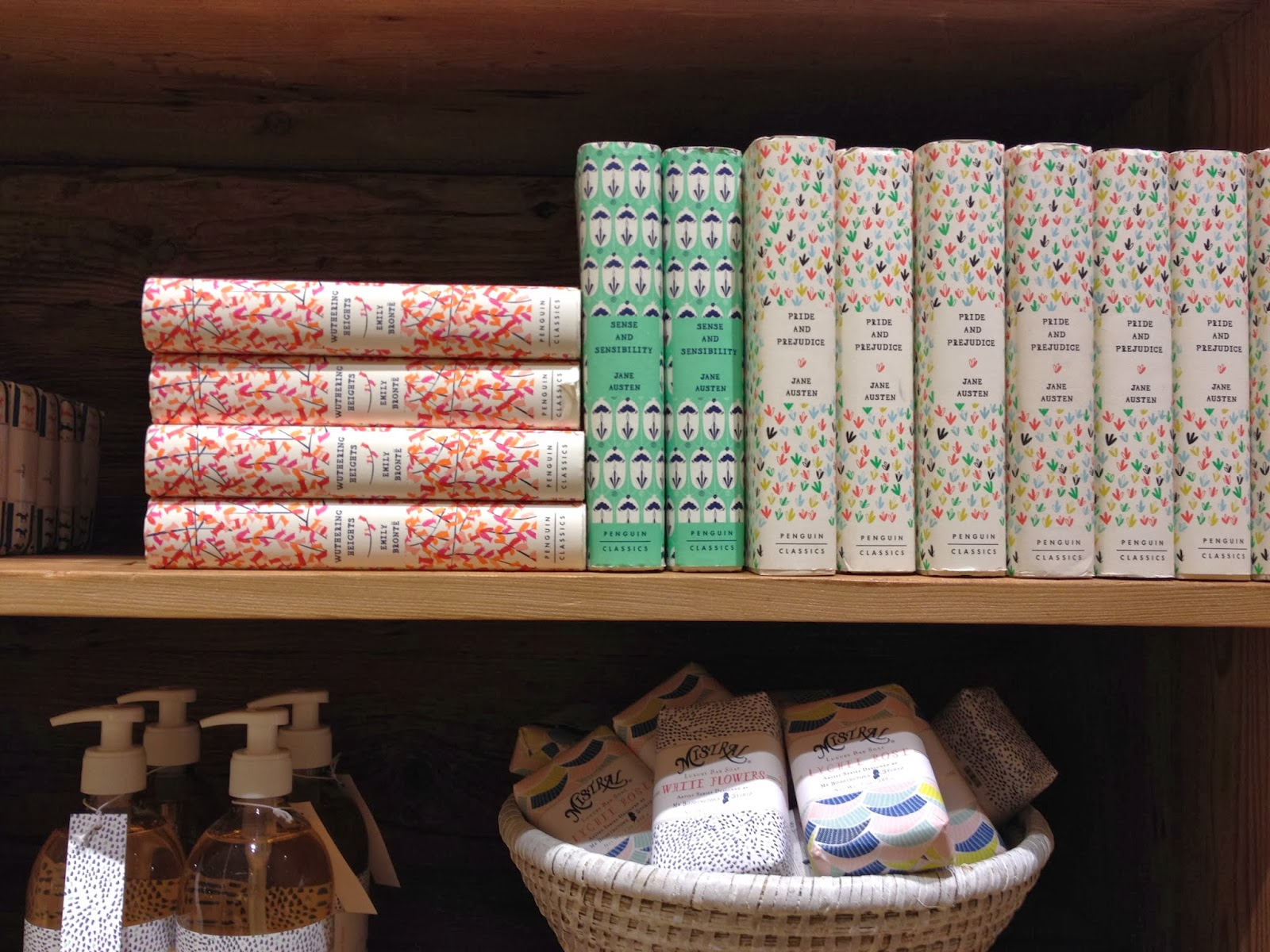 pretty books & soaps