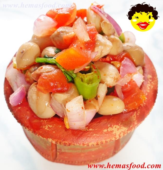 Boiled Peanut Masala