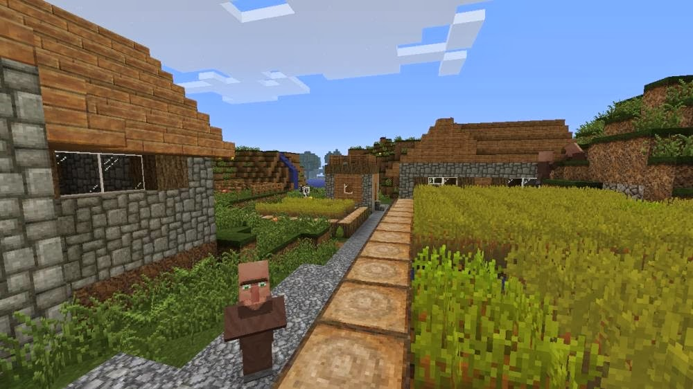 these things we call video games: MINECRAFT: SKYRIM EDITION (PREVIEW)