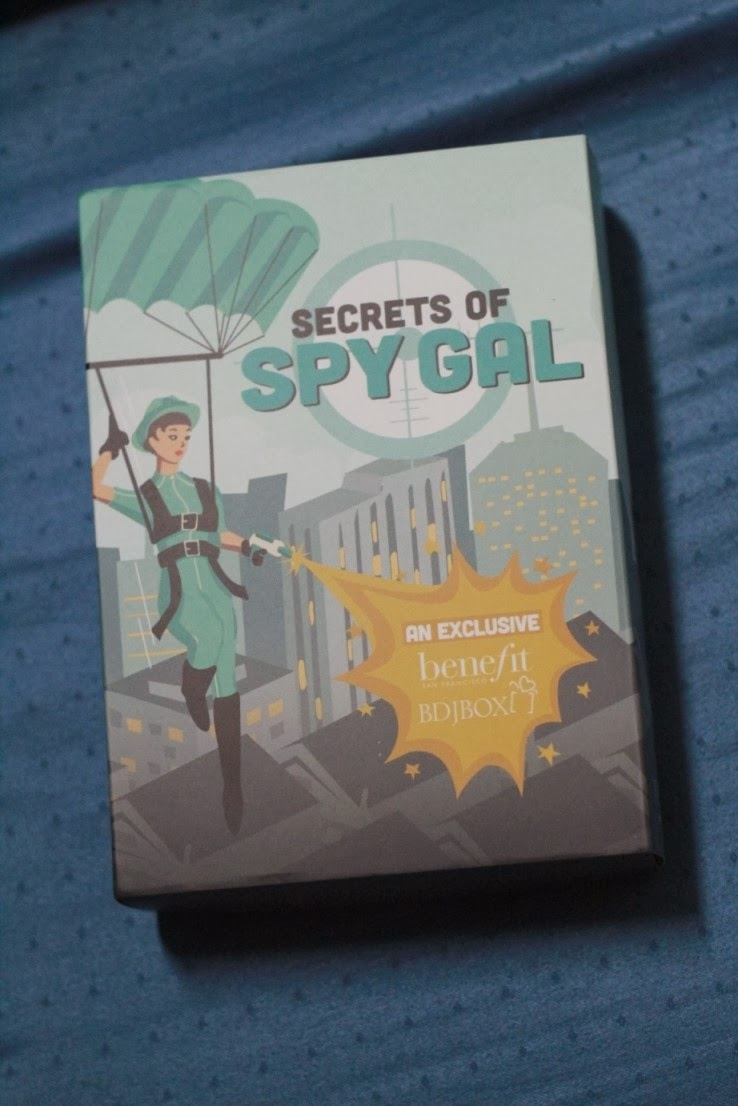 BDJ Box for March 2014 - Benefit's Secrets of Spy Gal