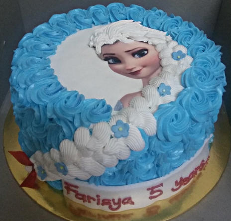 Elsa Hair Birthday Cake Image Inspiration of Cake and Birthday