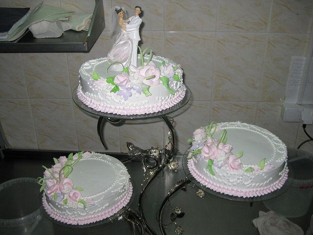 Сладкая история – торт на свадьбу!