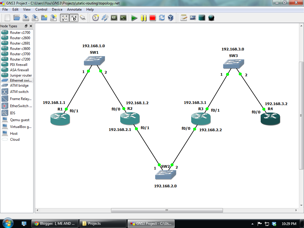 how to configure router in gns3 pdf