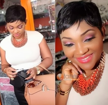 mercy aigbe short hairstyle