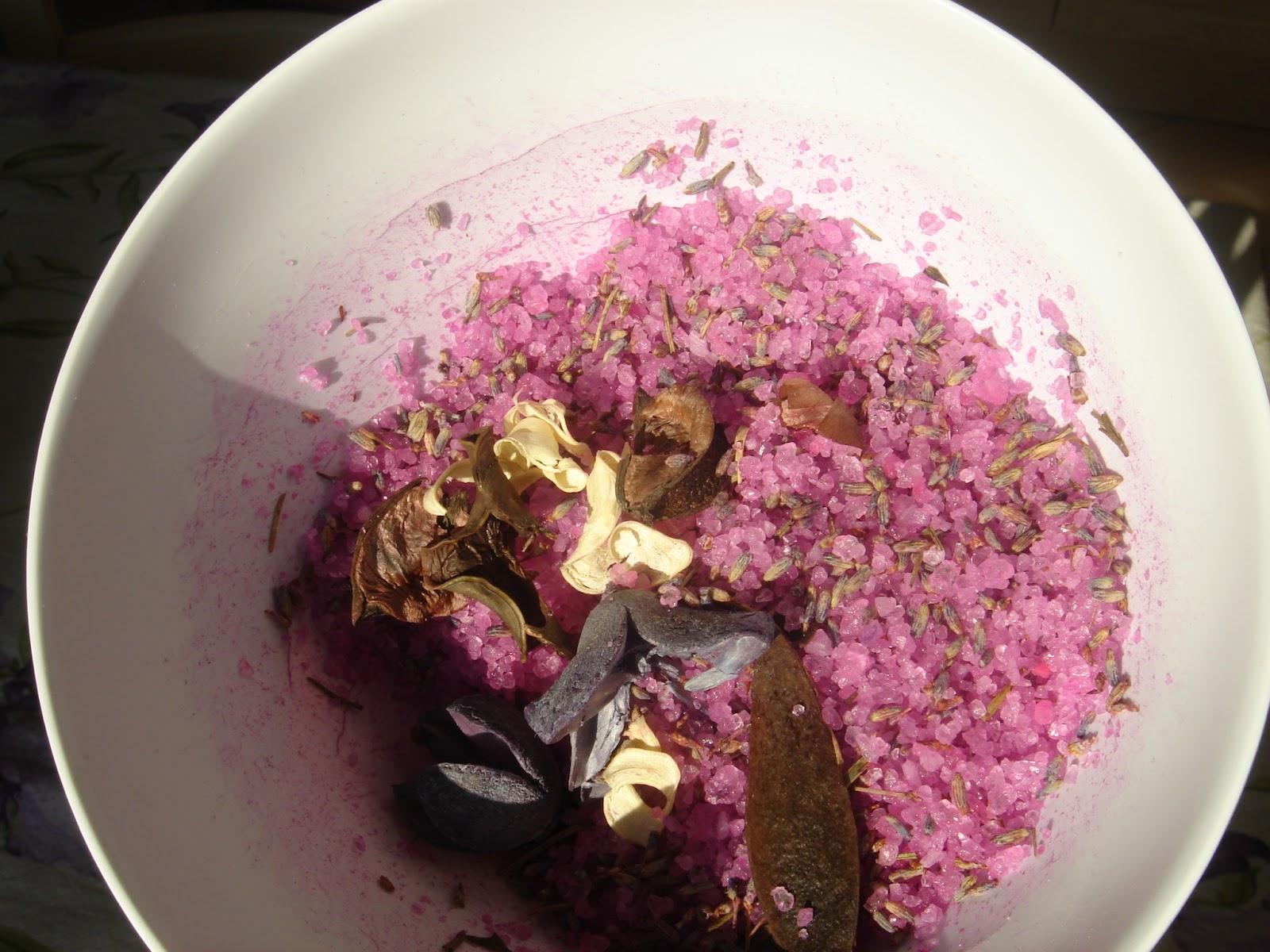 Ricetta Sali Da Bagno Fatti In Casa : Lavanda e cioccolato sali da bagno fai da te