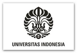logo universitas indonesia (ui) hitam putih