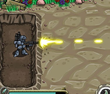 Jogos de tiro: The Peacekeeper, tower defense de armas com upgrades.