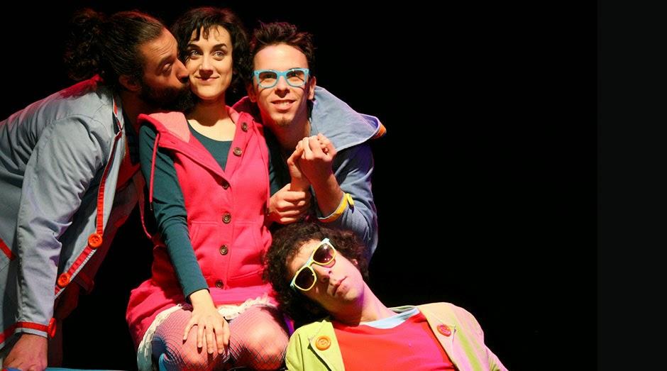"""""""Teatruras"""", improvisación escénica para niños en Moratalaz."""