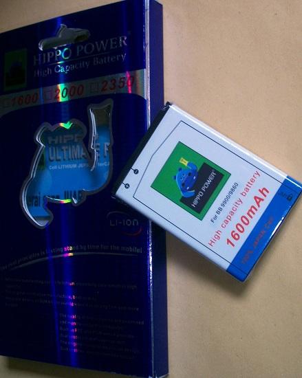 Baterai Hippo Double Power Blackberry Asli Termurah Jual