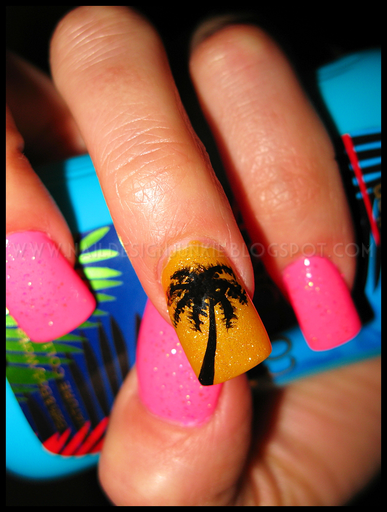 Nail Junkie Ready For The Beach Nail Design