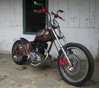 Modifikasi Motor Bebek Touring