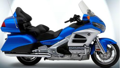 2012 Honda Gold Wing - blue color