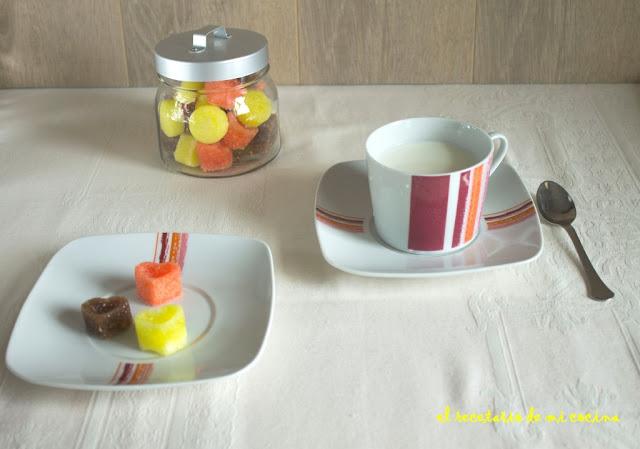 azucarillos de colores y sabores