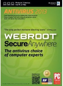 Webroot SecureAnywhere Antivirus 2013 Serial License Key Free