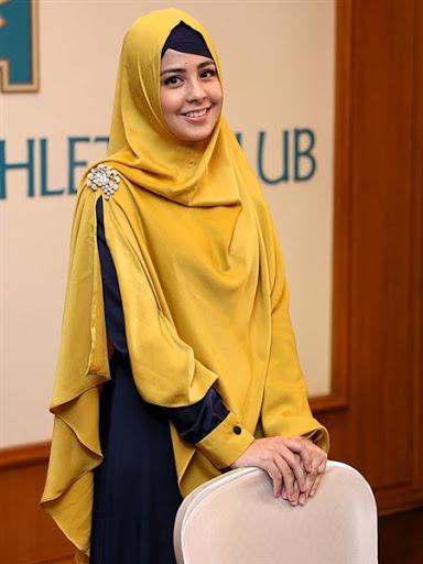 trend model gaya hijab ala risty tagor terbaru 2015/2016