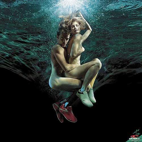 Zena Holloway fotografia sensual mulheres nuas subaquática fashion