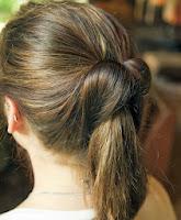 model rambut cepol untuk ke kantor