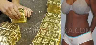 Woman arrested with 10 KG gold in Bandaranaike International Airport
