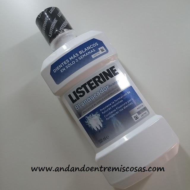 Enjuague blanqueador Listerine