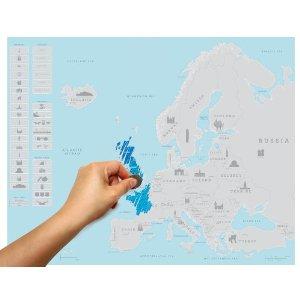 Regalo mapa viajero