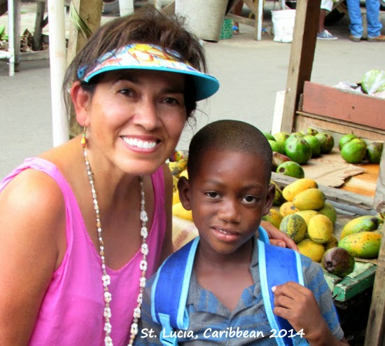 Local child in St. Lucia