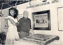 CON EL MAESTRO RAUL SOLDI REPRESENTANDO A LA EDITORIAL MARCHAND