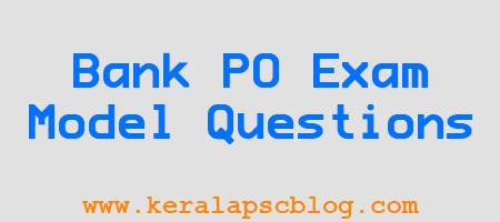 IBPS Bank PO Exam Reasoning Model Questions