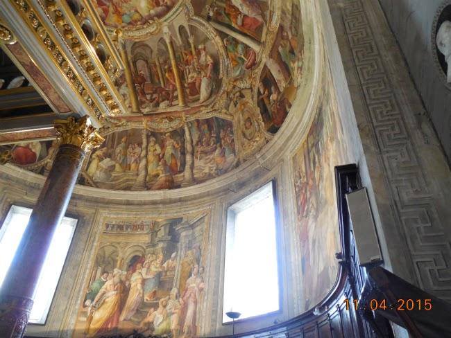 picturi aproape 3D pe tavan