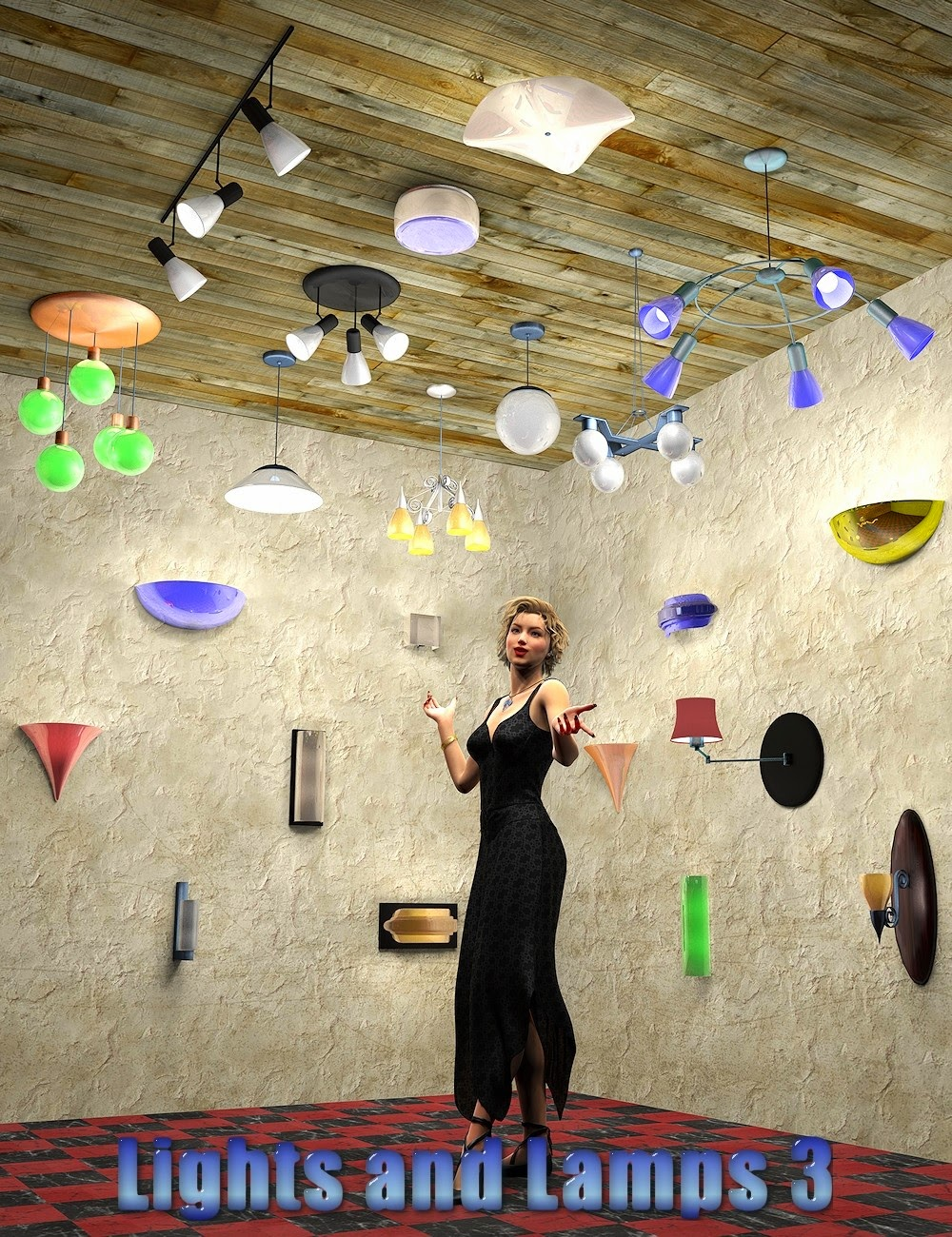 InaneGlory de luminaires et 3 - plafond et lampes pour mur
