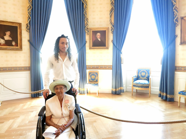 White House, Michael, Grandma, Honor, 2015