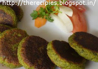 cheesy spinach kabab