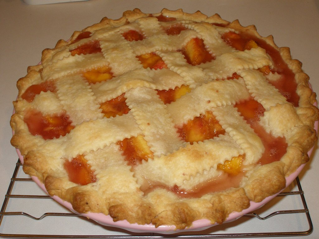 Cookies and Bytes: Fresh Peach Pie