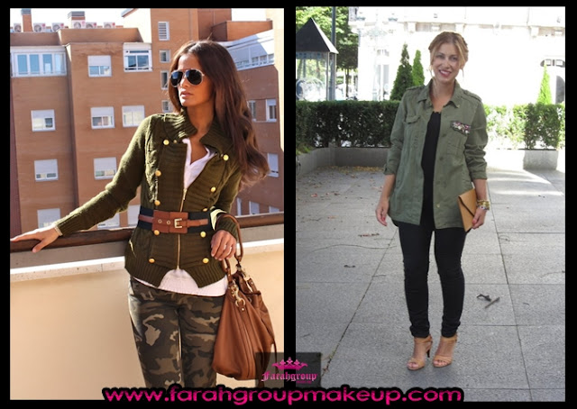 Fashion trends 2013, estilo militar