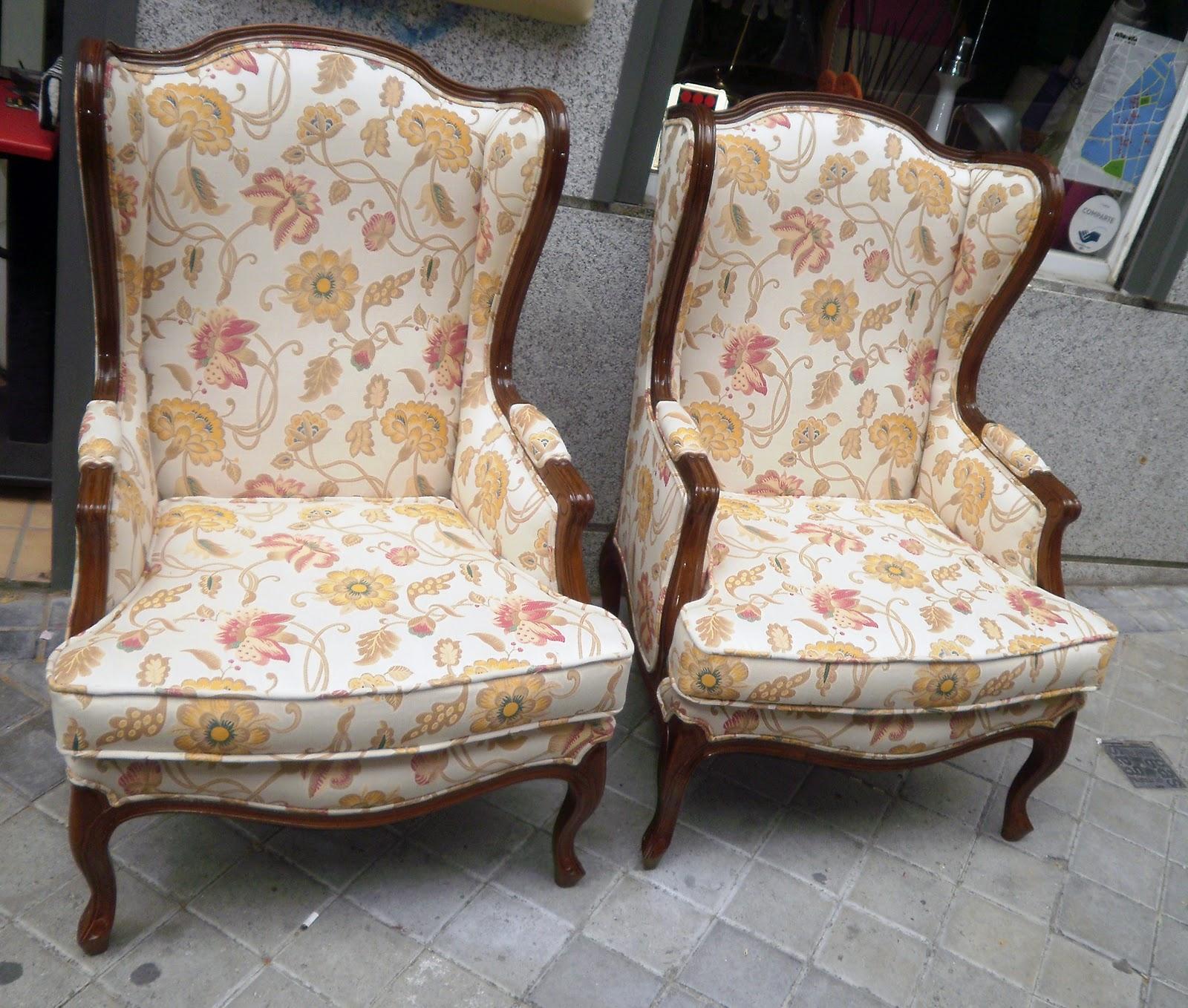 La tapicera orejero tapizado - Tela de tapiceria para sillones ...