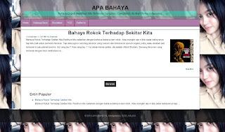 Nabilah template blog fast loading responsive