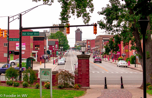 Downtown Huntington, WV From Marshall University Campus