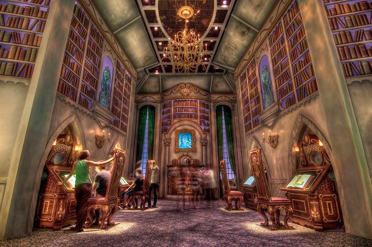 Z pamiętnika bibliotekarza. Część 4: Biblioteczny Disneyland