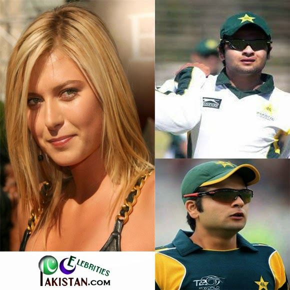 Ahmed Shehzad is a Big Fan Of Maria Sharapova