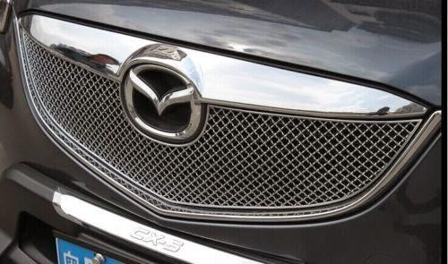 Mặt ca lăng tổ ong| Mặt ca lăng Bentley| Mặt ca lăng kiểu Bently cho Mazda CX-5| Độ mặt ca lăng Mazda CX-5