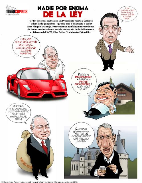 caricatura dinero corrupcion carton politico