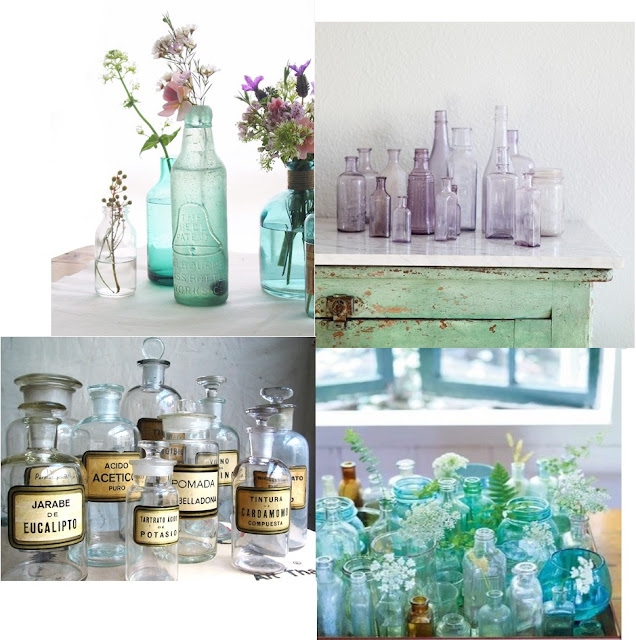 inspiration board apothecary jar