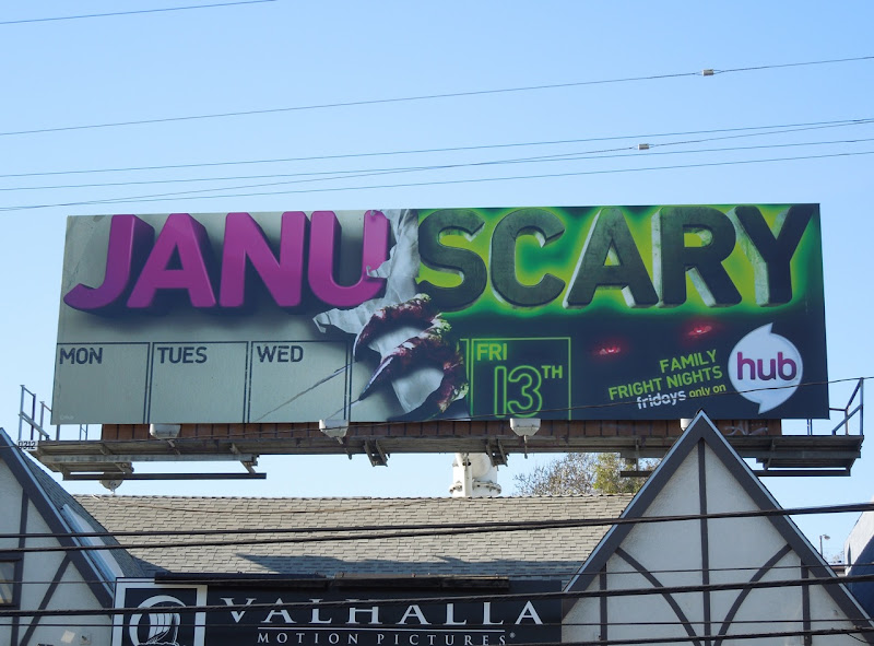 Januscary Hub billboard