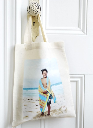 diy beach photo bag