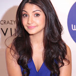 Anushka Sharma Super Hot In Short Blue Dress