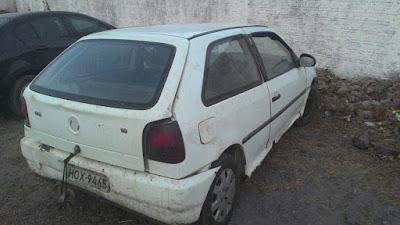 Mata Roma: PM recupera carro roubado