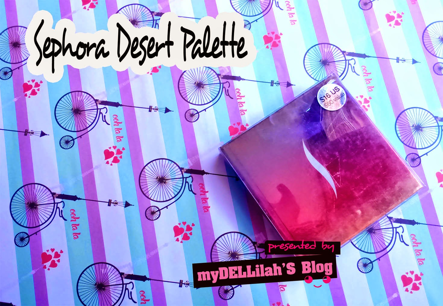 Review Sephora Desert Palette